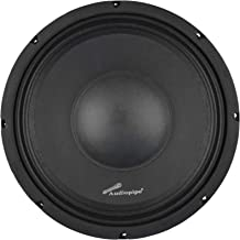 $63 » Audiopipe APSP-1050 10 Inch 700 Watt MAX, 350 Watts RMS, and 8 Ohm Dynamic Mid Range Car Audio Loudspeaker with 2.5 Inch K...