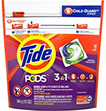 Tide PODS Spring Meadow Scent HE Turbo Laundry Detergent Pacs, 16 count