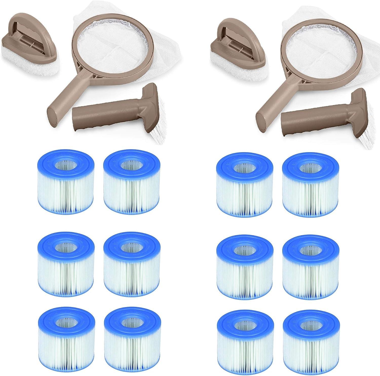 Intex PureSpa Hot Tub Maintenance Kit Cartr Filter S1 70%OFFアウトレット Type 2 日本メーカー新品
