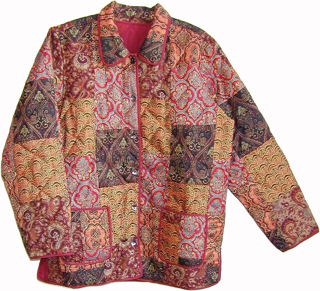 LA CERA Women's Patchwork Jacket
