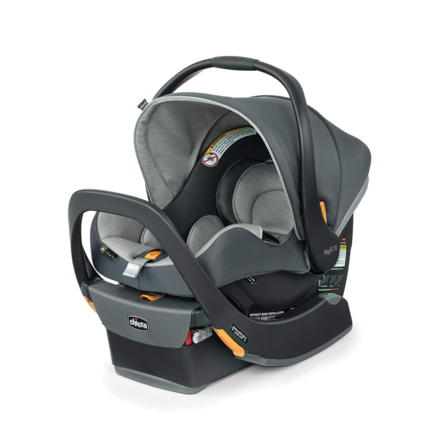 Many popular brands Chicco KeyFit 35 ClearTex Infant Cove Seat Car Time sale -