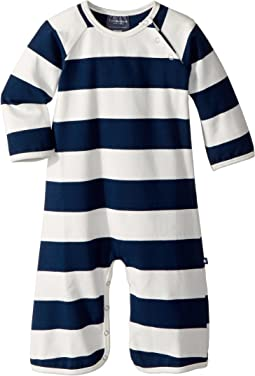 Toobydoo - The Rugby Jersey Knit Jumpsuit (Infant)