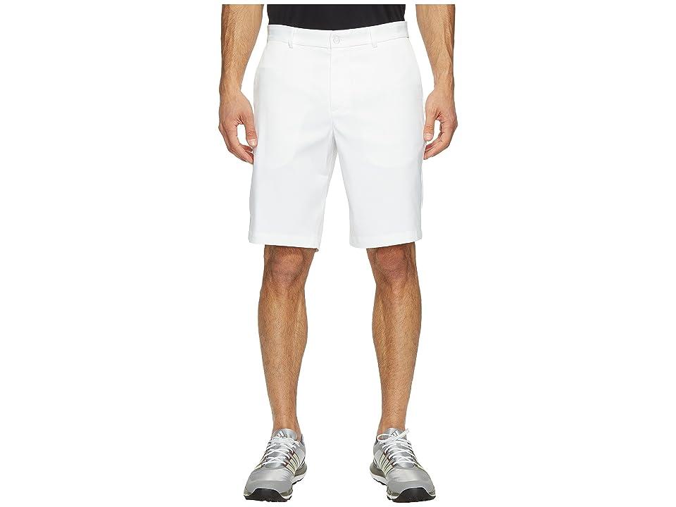 Nike Golf Flat Front Shorts (White/White) Men