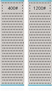 DMD ダイヤモンド両面砥石 修正砥石 面直し用砥石 包丁研ぎ 粒度 #400#1200 254×70×14mm 両面タイプ 中研ぎ/仕上げ研ぎ 日本語取扱説明書付き【DMD研ぎ工房】