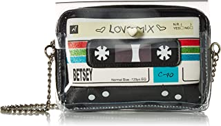 Betsey Johnson Cassette 斜挎包