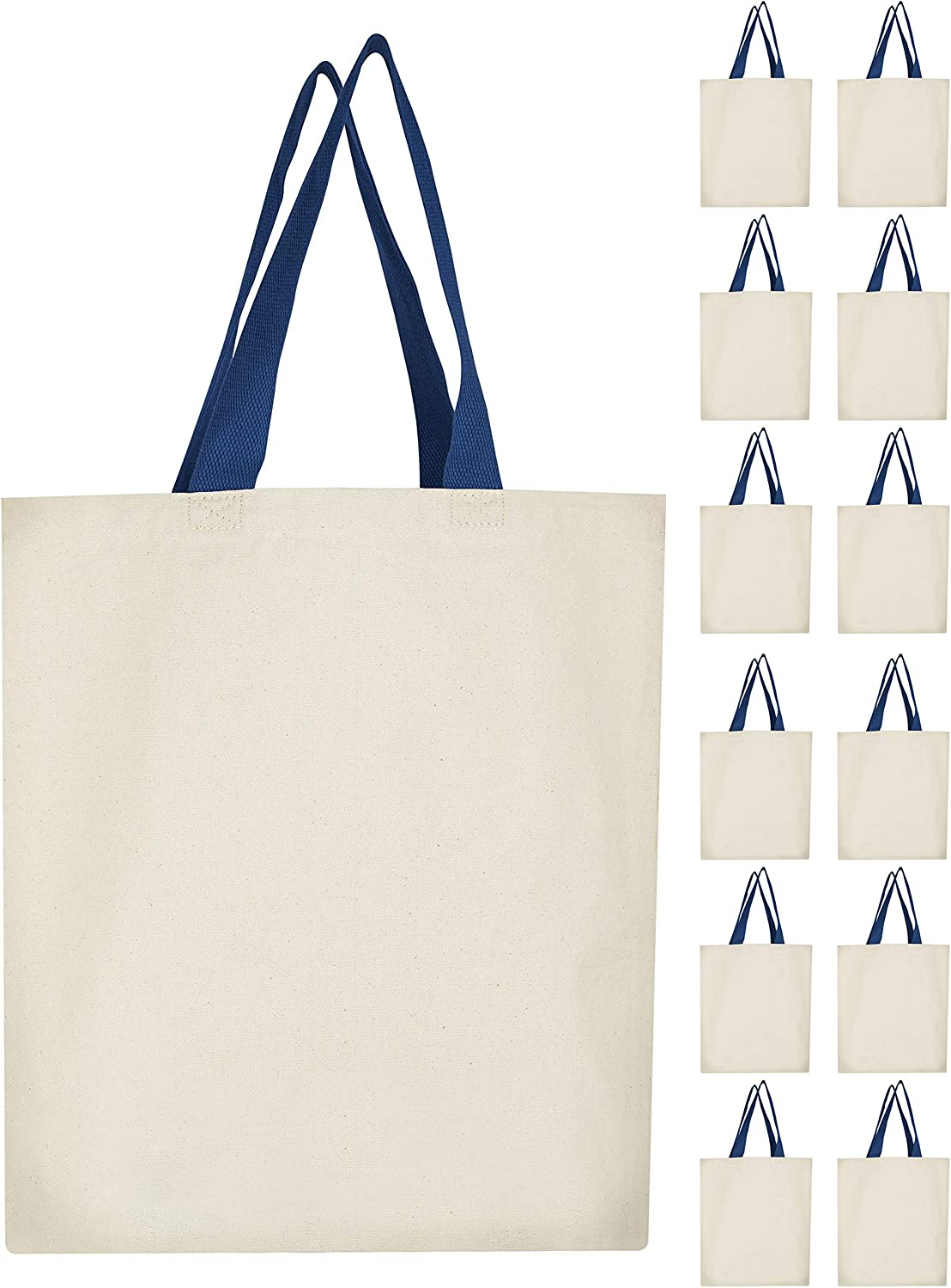 12Oz Canvas Tote Bag - 15x15 3 Multi-pur Inches Sale SALE% OFF Superior with Gusset Inch