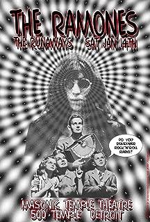 Ramones, The Runaways at The Masonic Temple Theatre 1975 Concert 13