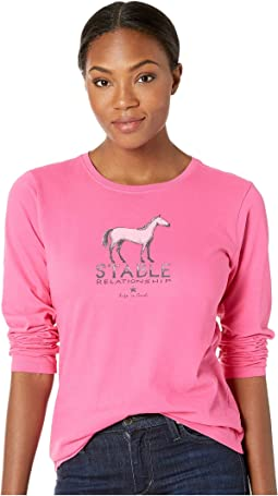 Stable Relationship Crusher Long Sleeve T-Shirt