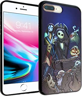 iPhone 8 Plus Case, IMAGITOUCH Anti-Scratch Shock Proof Clear Case Soft Touch Slim Fit Flexible TPU Case Bumper Cover for iPhone 7Plus / 8Plus -The Nightmare Before Christmas