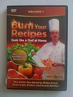 BURN YOUR RECIPES