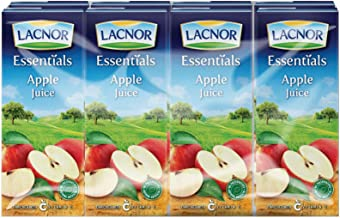 Lacnor Essentials Apple Juice - 180 ml x 8