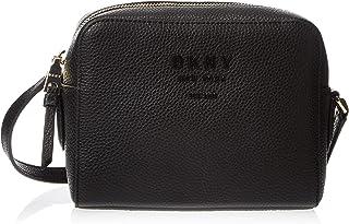 DKNY Womens Noho-Camera Crossbody Bag Handbag, Color Black