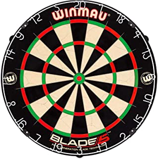Sponsored Ad - Winmau Blade 5 Bristle Dartboard with All-New Thinner Wiring for Higher Scoring and Reduced Bounce-Outs