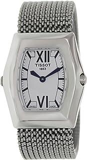 Tissot T-Win Women's Reversible Black/White Dial Mesh Stainless Steel Band Watch - T08.1.187.53, Analog Display, Swiss Qua...