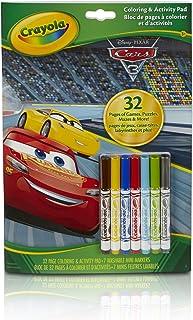 CRAYOLA - 04-0288-E-000 - Album De Coloriage/D'activités Cars 3