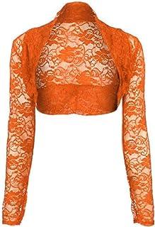 8923b8ba287561 Amazon.com: Oranges - Shrugs / Sweaters: Clothing, Shoes & Jewelry