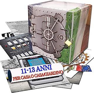 Caccia al tesoro in scatola - il Caveau della banca - 11-13 anni - per feste di compleanno - giochi per bambini