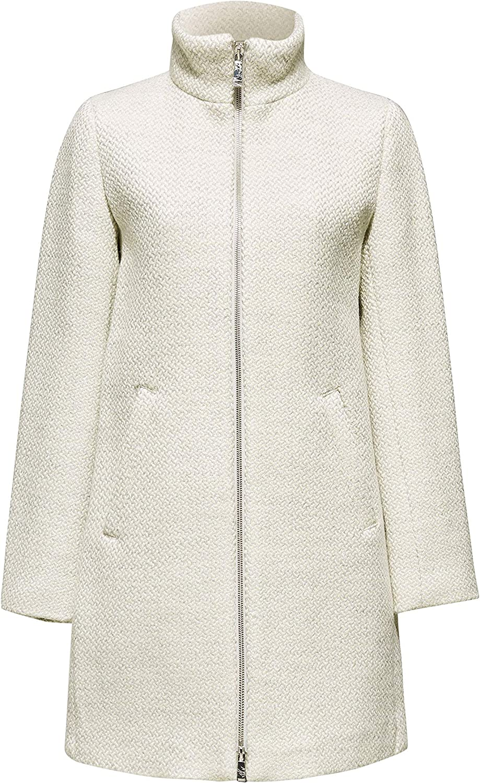 ESPRIT Collection Damen Mantel Grau (Pastel Grey 5 054)