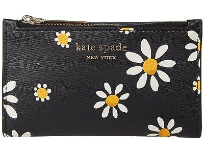 Kate Spade New York Spencer Daisy Small Slim Bifold Wallet