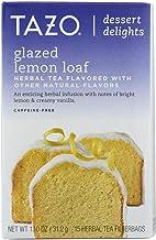 TAZO TEA, Tea, Herbal, Glzd Lmon Loaf, Pack of 6, Size 15 BAG, (GMO Free Yeast Free)