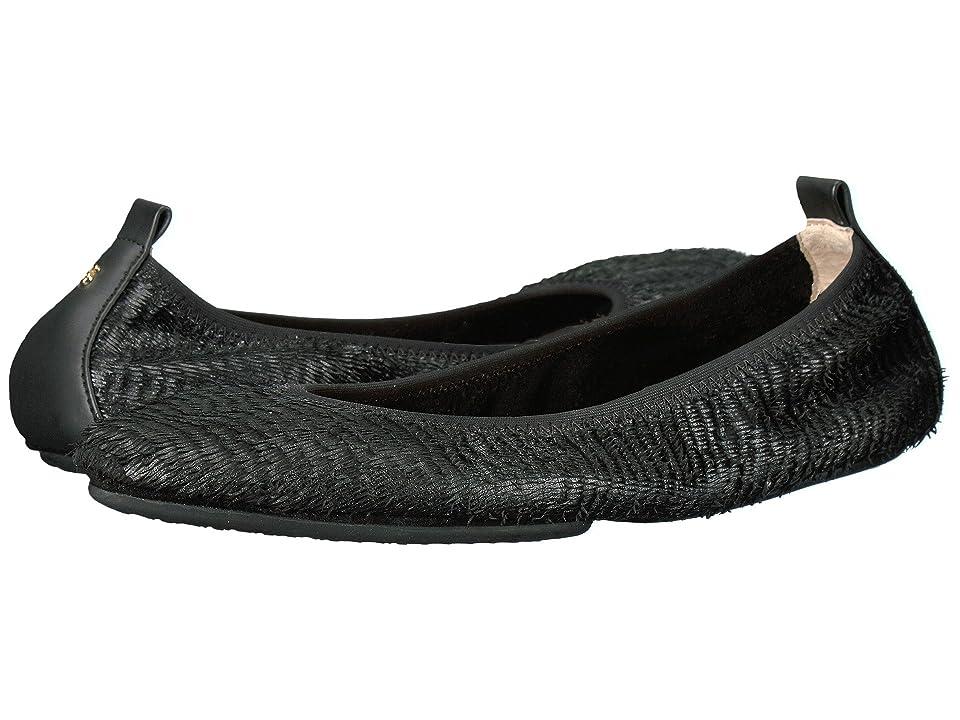 Yosi Samra Vienna Pointed Toe (Black) Women