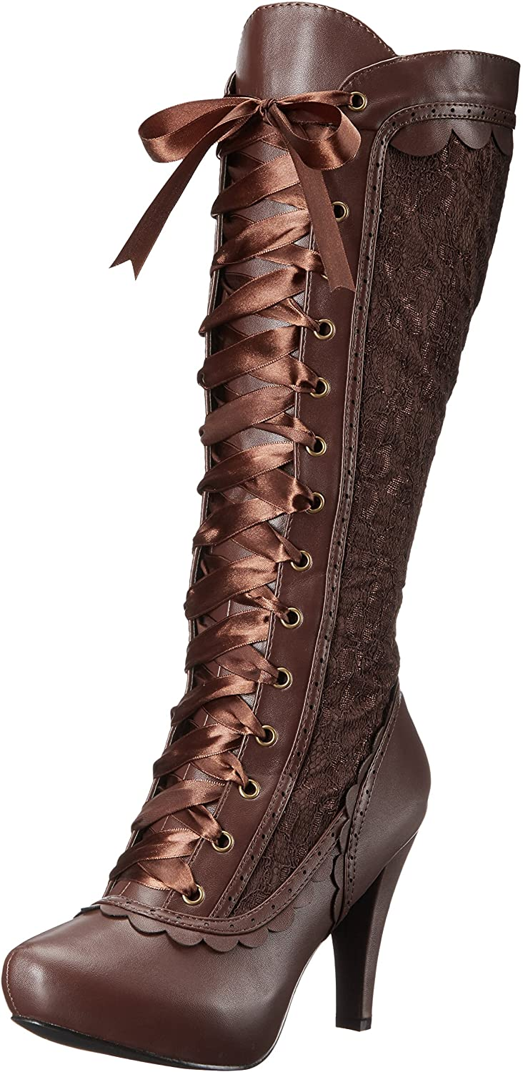 History of Victorian Boots & Shoes for Women Ellie Shoes Womens 414-Mary Boot  AT vintagedancer.com
