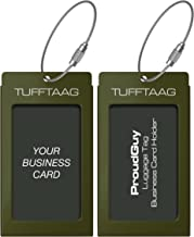 military luggage tags