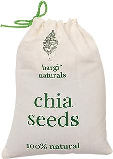 Bargi Naturals Premium Raw Chia Seeds 1kg Gross Weight