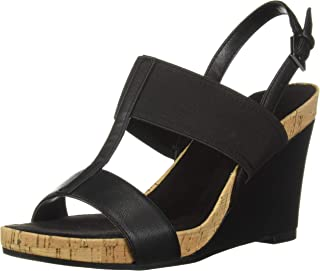 Women's Plush Behind Wedge Sandal