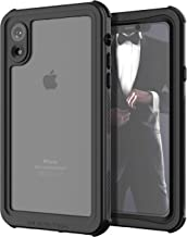 Ghostek Nautical Military Grade Waterproof Case Compatible with Apple iPhone XR | Supports Wireless Charging - Black