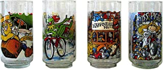 Vintage 1981 McDonald's Drinking Glasses The Muppets in The Great Muppet Caper - Set of 4