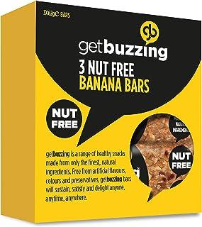 Bares Getbuzzing Tuerca gratuito plátano 3 x 62g