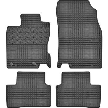 PASSGENAU Gummi Fußmatten Gummimatten passend RENAULT KADJAR 2015-2020 Set