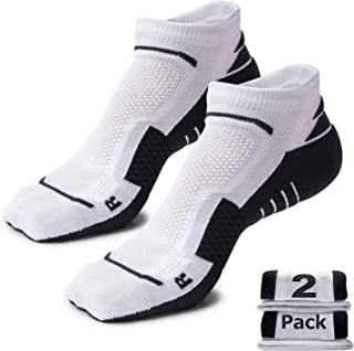 Unisex Performance Cushion Running Socks Anti-Blister Compression Athletic Socks