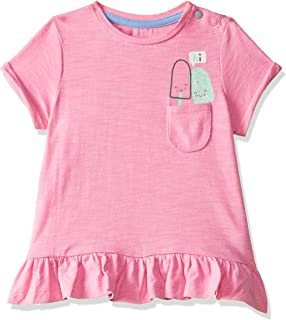 Mothercare Baby Girls' Plain Regular Fit T-Shirt