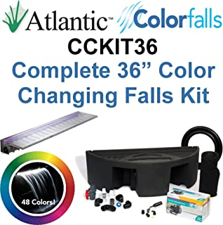 Atlantic Water Gardens CCKIT36 Complete Color Changing Colorfalls Kit - 36