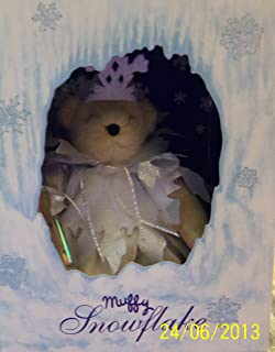 North American Bear Muffy VanderBear Snowflake - 1993 Limited Edition