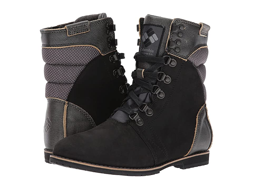 Columbia Twentythird Ave WP Mid (Black/Ti Grey Steel) Women