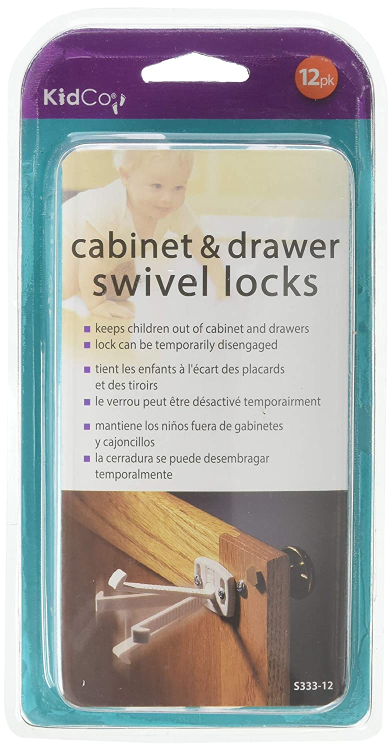 KidCo Some reservation Seasonal Wrap Introduction 12 Count Swivel Lock and Drawer Cabinet