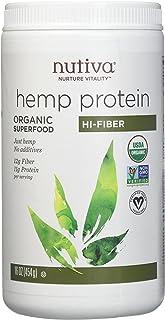 Nutiva, Hemp Protein Powder Organic, 16 Ounce