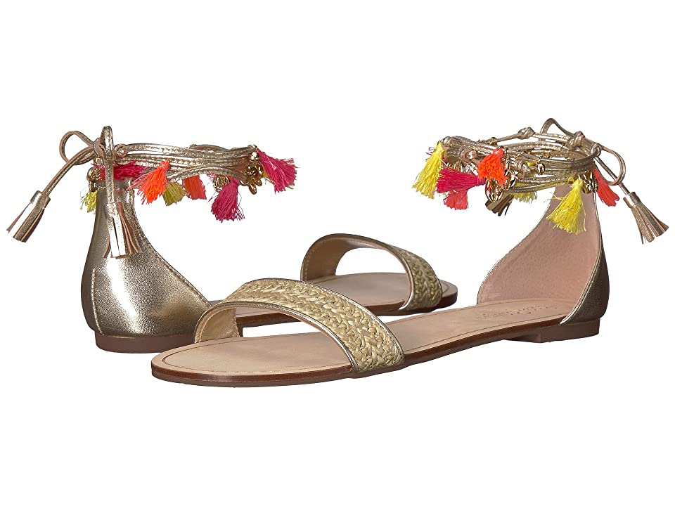 Lilly Pulitzer Willa Sandal (Gold Metallic) Women