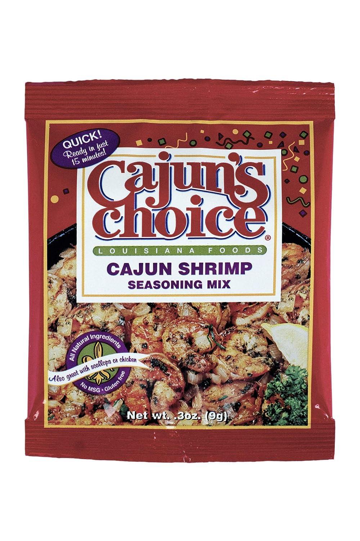 Cajun Shrimp .3 oz Cajun's Choice Louisiana Pack 6 Max Memphis Mall 44% OFF Foods of