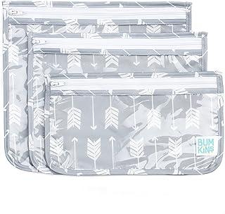 Bumkins Clear Travel Bag 3 Pack, Arrow