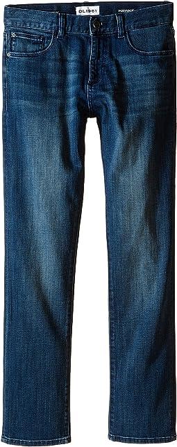 Hawke Skinny Jeans in Scabbard (Big Kids)