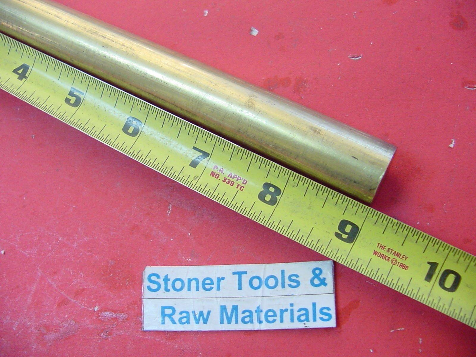 .750 3//4/'/' Brass Round Bar Rod C360 x 24/'/'