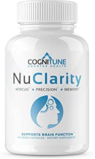 Sponsored Ad - NuClarity - Premium Nootropic Brain Supplement - Focus, Energy, Memory Booster - Mental Clarity & Cognitive...