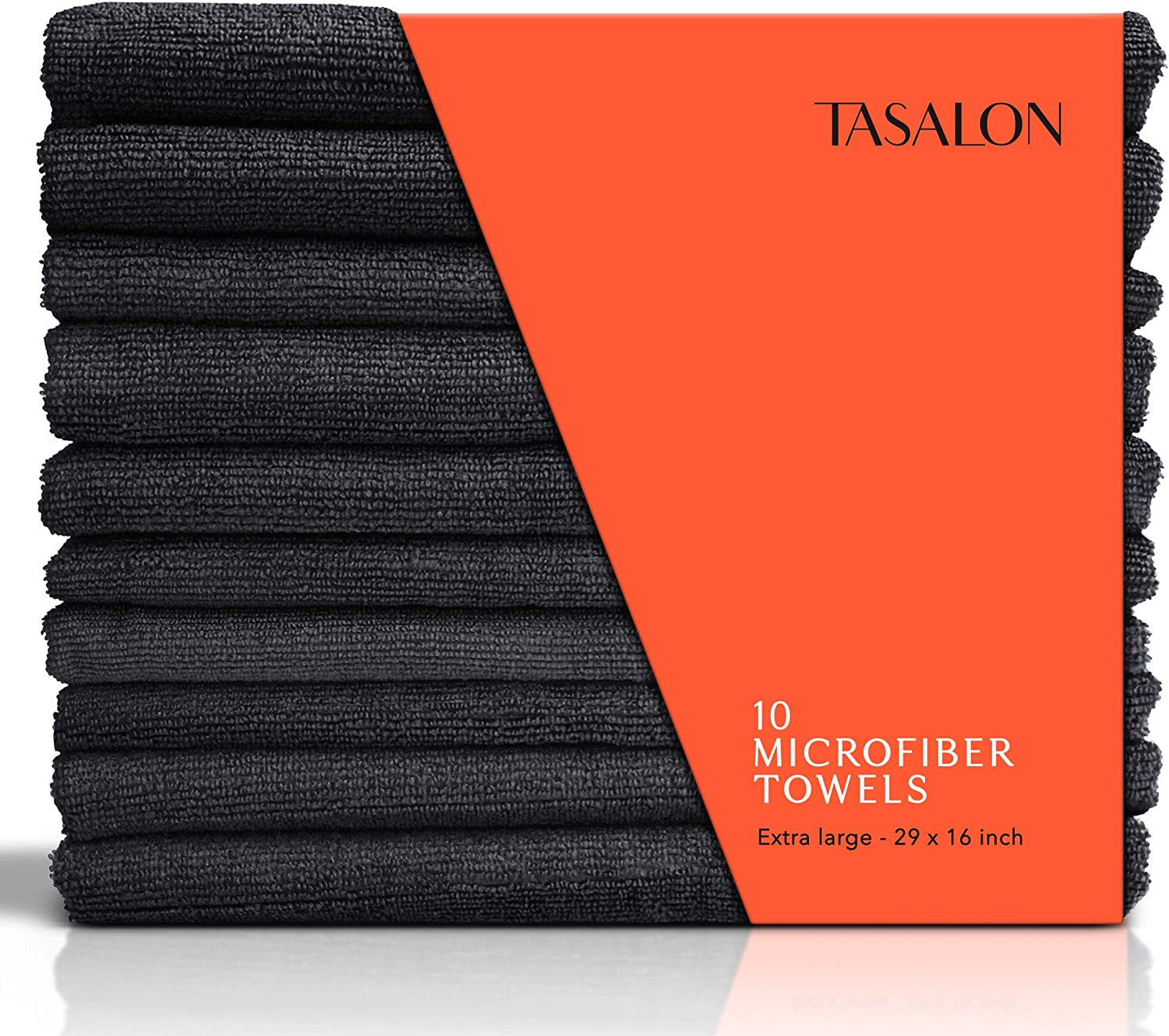 TASALON Microfiber Hair Towel - 10 Salon Pack Quick Towels 5 ☆ very Special price for a limited time popular D