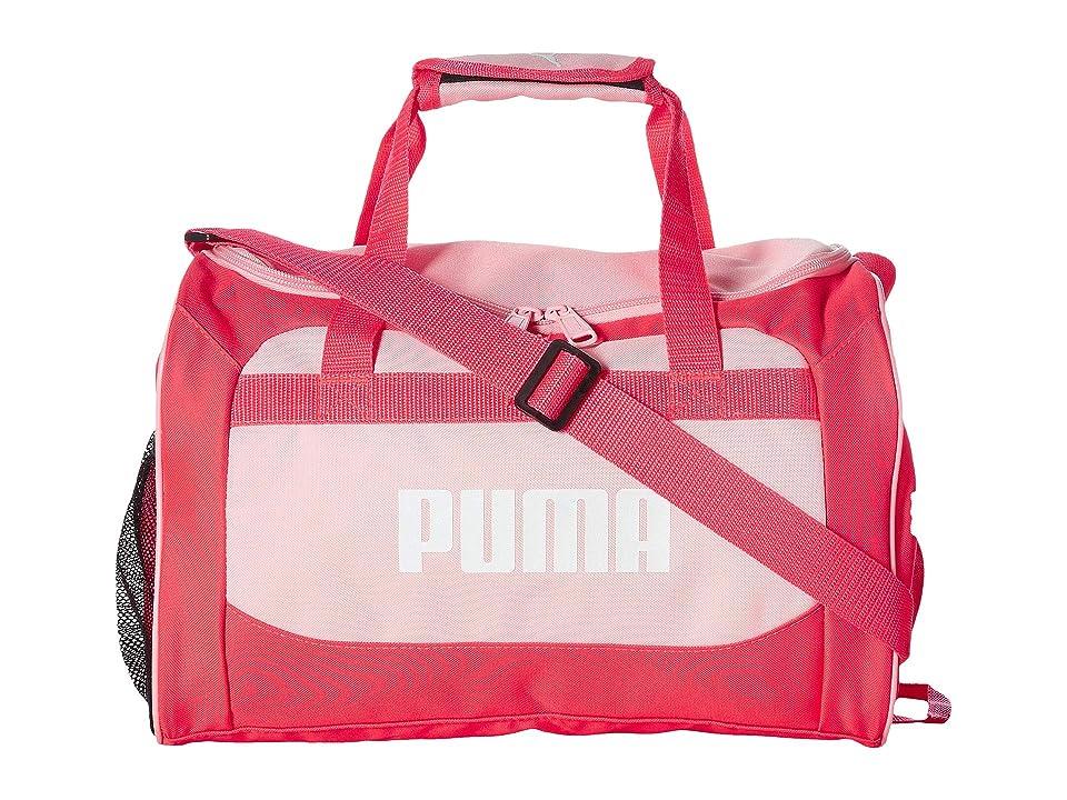PUMA Evercat Youth Transformation 13 Junior Duffel (Little Kids/Big Kids) (Pink Combo) Duffel Bags