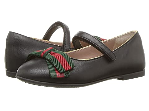 99d089558dd Gucci Kids Cindy Ballerina (Toddler) at Luxury.Zappos.com