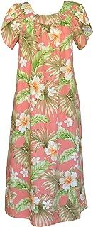 full length coral dress